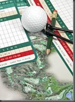Golf-Scorecard